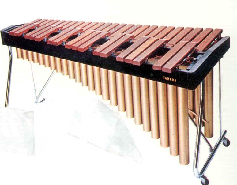 Un xylophone   instrument de musique originaire d   AfriqueXylophone